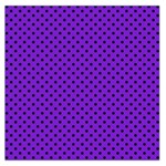 Polka dots Large Satin Scarf (Square) Front