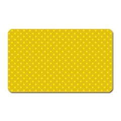 Polka Dots Magnet (rectangular) by Valentinaart