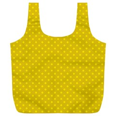 Polka Dots Full Print Recycle Bags (l)  by Valentinaart