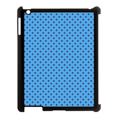 Polka Dots Apple Ipad 3/4 Case (black) by Valentinaart