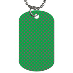 Polka Dots Dog Tag (one Side)