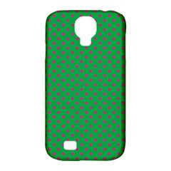Polka Dots Samsung Galaxy S4 Classic Hardshell Case (pc+silicone) by Valentinaart