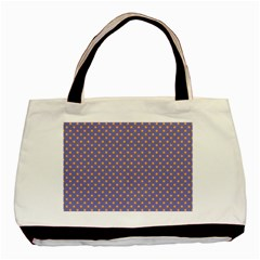 Polka Dots Basic Tote Bag by Valentinaart