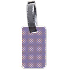 Polka Dots Luggage Tags (one Side)  by Valentinaart