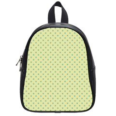 Polka Dots School Bags (small)  by Valentinaart