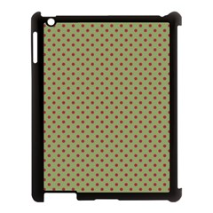 Polka Dots Apple Ipad 3/4 Case (black)