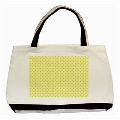 Polka Dots Basic Tote Bag (two Sides) by Valentinaart