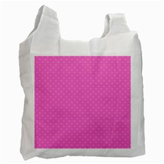 Polka Dots Recycle Bag (two Side)