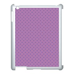 Polka Dots Apple Ipad 3/4 Case (white) by Valentinaart
