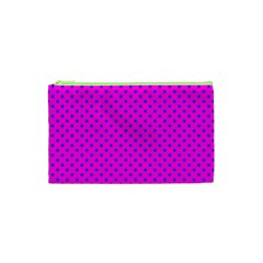 Polka Dots Cosmetic Bag (xs) by Valentinaart