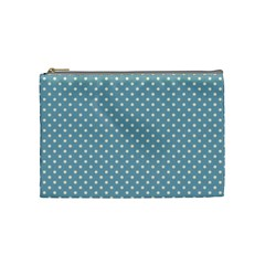 Polka Dots Cosmetic Bag (medium)
