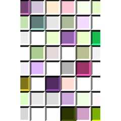 Color Tiles Abstract Mosaic Background 5 5  X 8 5  Notebooks by Simbadda
