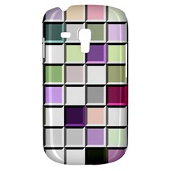 Color Tiles Abstract Mosaic Background Galaxy S3 Mini by Simbadda