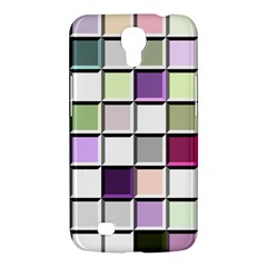 Color Tiles Abstract Mosaic Background Samsung Galaxy Mega 6 3  I9200 Hardshell Case