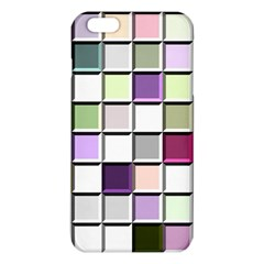 Color Tiles Abstract Mosaic Background Iphone 6 Plus/6s Plus Tpu Case by Simbadda