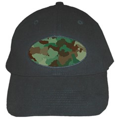 Camouflage Pattern A Completely Seamless Tile Able Background Design Black Cap