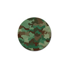 Camouflage Pattern A Completely Seamless Tile Able Background Design Golf Ball Marker by Simbadda