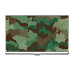 Camouflage Pattern A Completely Seamless Tile Able Background Design Business Card Holders by Simbadda