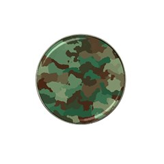 Camouflage Pattern A Completely Seamless Tile Able Background Design Hat Clip Ball Marker (4 Pack) by Simbadda
