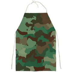 Camouflage Pattern A Completely Seamless Tile Able Background Design Full Print Aprons