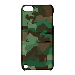 Camouflage Pattern A Completely Seamless Tile Able Background Design Apple Ipod Touch 5 Hardshell Case With Stand by Simbadda