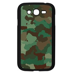 Camouflage Pattern A Completely Seamless Tile Able Background Design Samsung Galaxy Grand Duos I9082 Case (black)