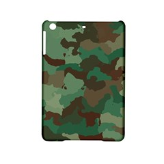 Camouflage Pattern A Completely Seamless Tile Able Background Design Ipad Mini 2 Hardshell Cases by Simbadda