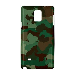 Camouflage Pattern A Completely Seamless Tile Able Background Design Samsung Galaxy Note 4 Hardshell Case