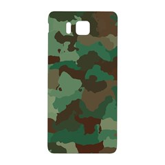 Camouflage Pattern A Completely Seamless Tile Able Background Design Samsung Galaxy Alpha Hardshell Back Case