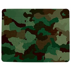 Camouflage Pattern A Completely Seamless Tile Able Background Design Jigsaw Puzzle Photo Stand (rectangular)