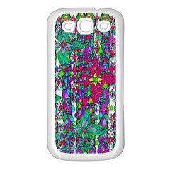 Sunny Roses In Rainy Weather Pop Art Samsung Galaxy S3 Back Case (white) by pepitasart