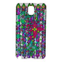 Sunny Roses In Rainy Weather Pop Art Samsung Galaxy Note 3 N9005 Hardshell Case by pepitasart