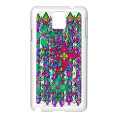 Sunny Roses In Rainy Weather Pop Art Samsung Galaxy Note 3 N9005 Case (white) by pepitasart