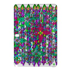 Sunny Roses In Rainy Weather Pop Art Samsung Galaxy Tab Pro 12 2 Hardshell Case by pepitasart