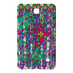 Sunny Roses In Rainy Weather Pop Art Samsung Galaxy Tab 4 (8 ) Hardshell Case  by pepitasart