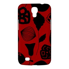 Congregation Of Floral Shades Pattern Samsung Galaxy Mega 6 3  I9200 Hardshell Case