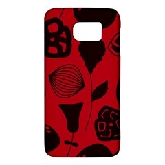 Congregation Of Floral Shades Pattern Galaxy S6