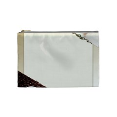 Greeting Card Coffee Mood Cosmetic Bag (medium)  by Simbadda
