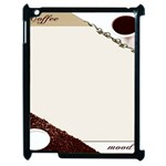 Greeting Card Coffee Mood Apple iPad 2 Case (Black) Front