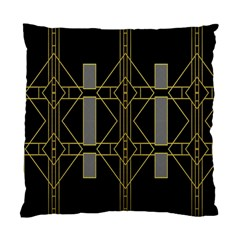 Simple Art Deco Style  Standard Cushion Case (two Sides)