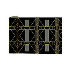 Simple Art Deco Style  Cosmetic Bag (large)
