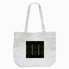 Simple Art Deco Style  Tote Bag (white)