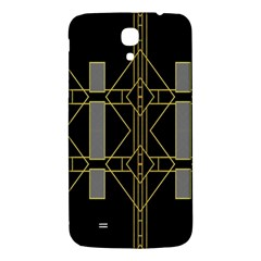 Simple Art Deco Style  Samsung Galaxy Mega I9200 Hardshell Back Case by Simbadda
