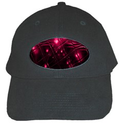 Picture Of Love In Magenta Declaration Of Love Black Cap by Simbadda