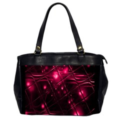 Picture Of Love In Magenta Declaration Of Love Office Handbags (2 Sides)