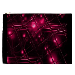 Picture Of Love In Magenta Declaration Of Love Cosmetic Bag (xxl)  by Simbadda