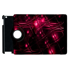 Picture Of Love In Magenta Declaration Of Love Apple Ipad 3/4 Flip 360 Case by Simbadda