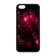 Picture Of Love In Magenta Declaration Of Love Apple Iphone 5c Seamless Case (black) by Simbadda