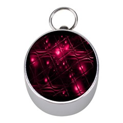 Picture Of Love In Magenta Declaration Of Love Mini Silver Compasses by Simbadda
