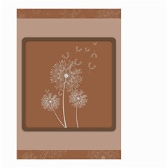 Dandelion Frame Card Template For Scrapbooking Small Garden Flag (two Sides)